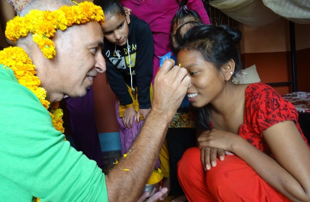 Llegada a Nepal: celebrando Tihar