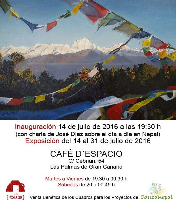 Exposición colectiva «Pinceladas por Nepal»