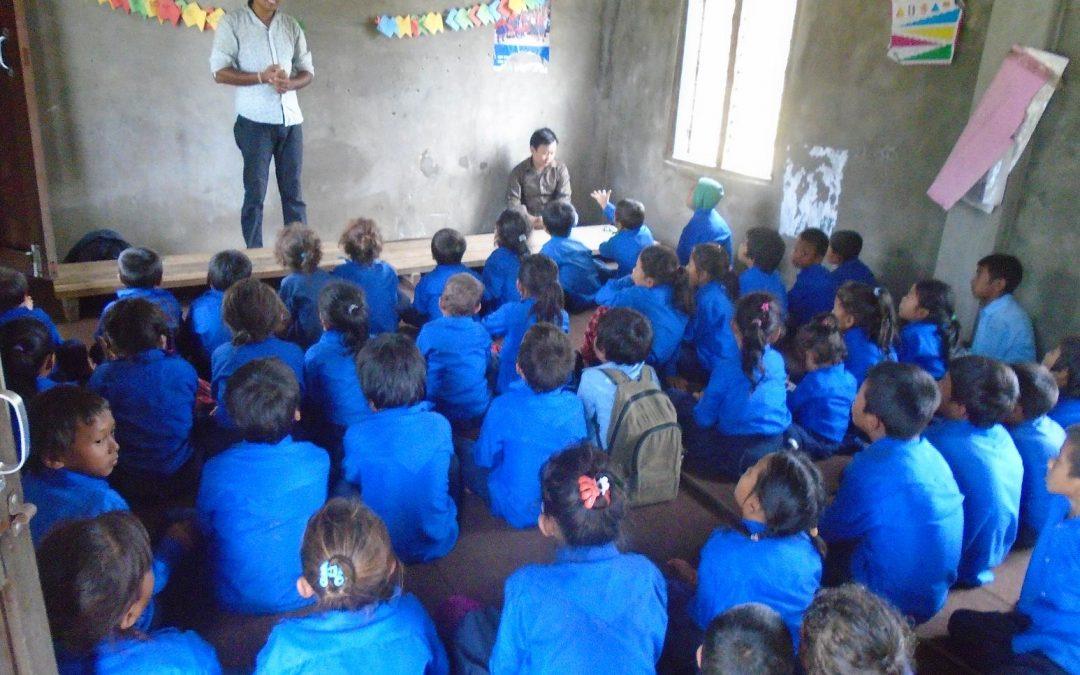 Un reto diario: acercar los niños a la escuela