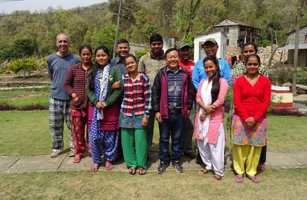 Un gran equipo en Nepal
