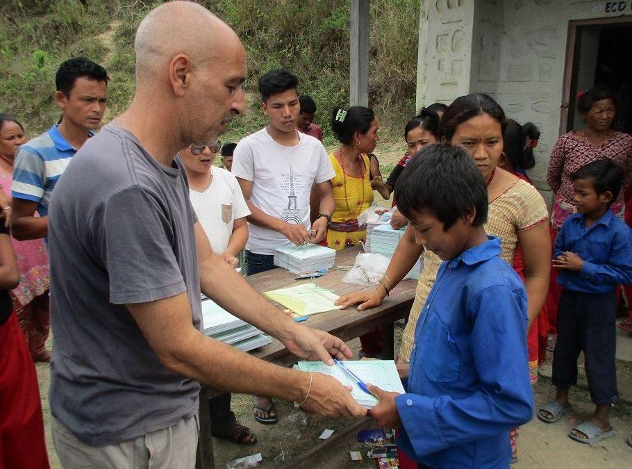 ¿Quieres colaborar con niños en Nepal?