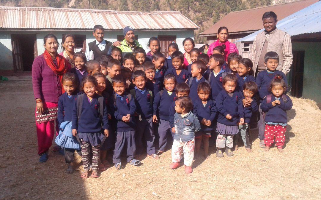 92% de escolarización en el Nepal rural